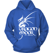 Load image into Gallery viewer, Dragon Moor Hoodie White Dragon