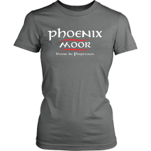Load image into Gallery viewer, Phoenix Moor Women's Red & White T-2