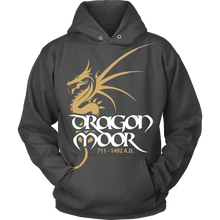 Load image into Gallery viewer, Dragon Moor Hoodie Gold Dragon
