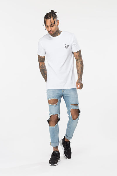 HYPE JH BOTANICAL MEN'S T-SHIRT-WHITE