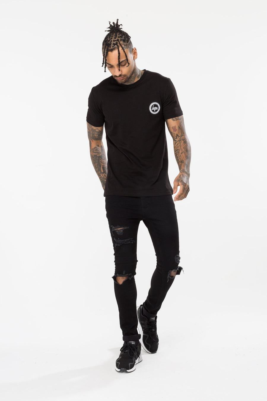 HYPE BELIEVE THE ROSE MEN'S T-SHIRT