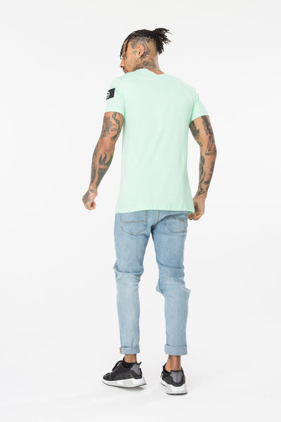 HYPE INSIGNIA MEN'S T-SHIRT-MINT