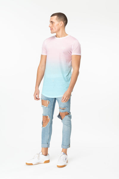 HYPE BUBBLEGUM FADE MEN'S T-SHIRT