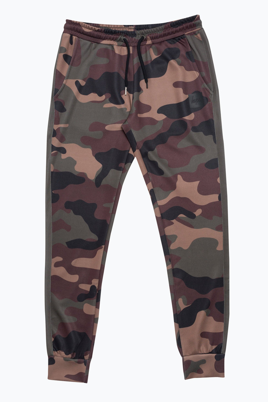 HYPE CAMO POLY STRIPE MEN'S JOGGERS