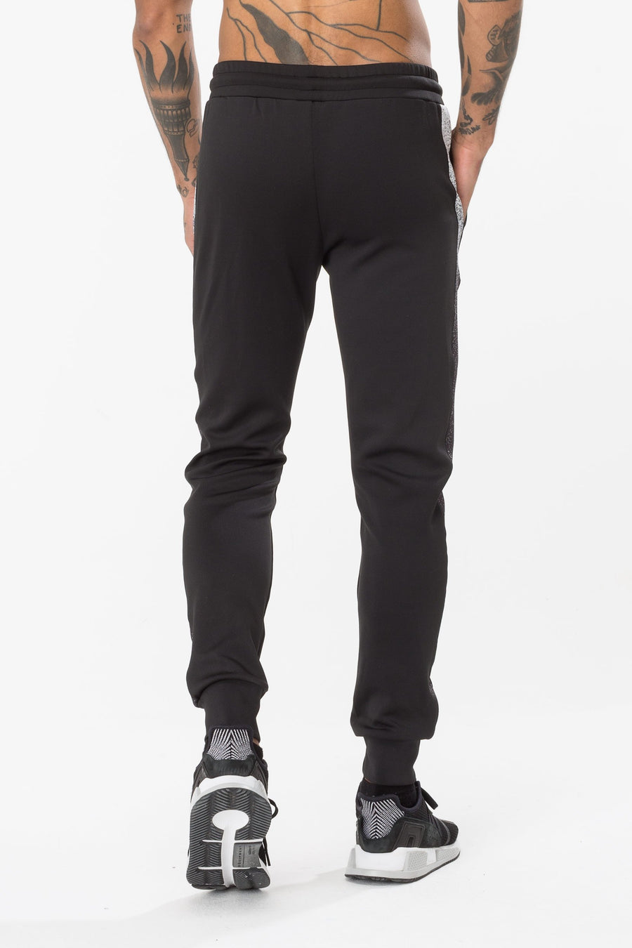 HYPE-SPECKLE POLY STRIPE -Men's Joggers