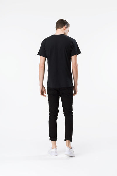 HYPE SCRIPT  BLACK/WHITE  MEN'S T-SHIRT