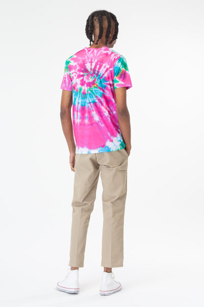 HYPE WATERMELON MEN'S TIE DIE TEE