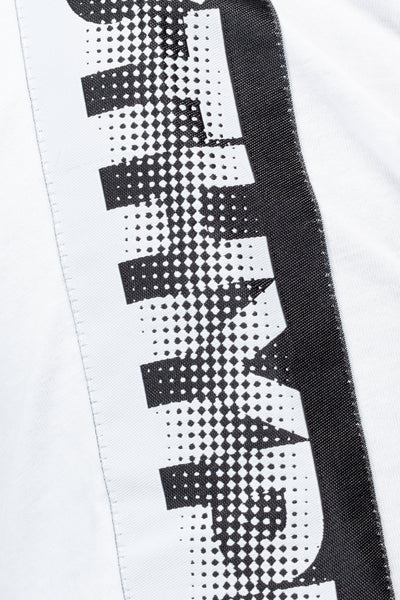 HYPE WHITE SPECKLE TAPE MEN'S T-SHIRT
