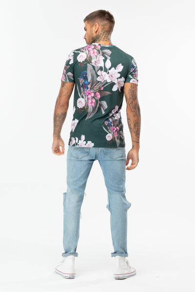 HYPE FOREST BLOSSOM MEN'S T-SHIRT