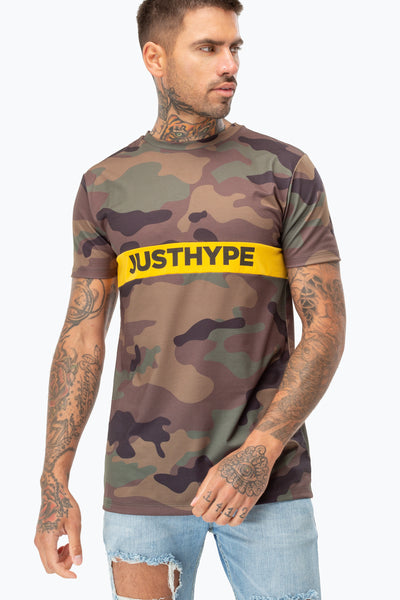 HYPE CAMO JH STRIPE MEN'S T-SHIRT