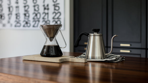 Brewing Better Pour Over Coffee