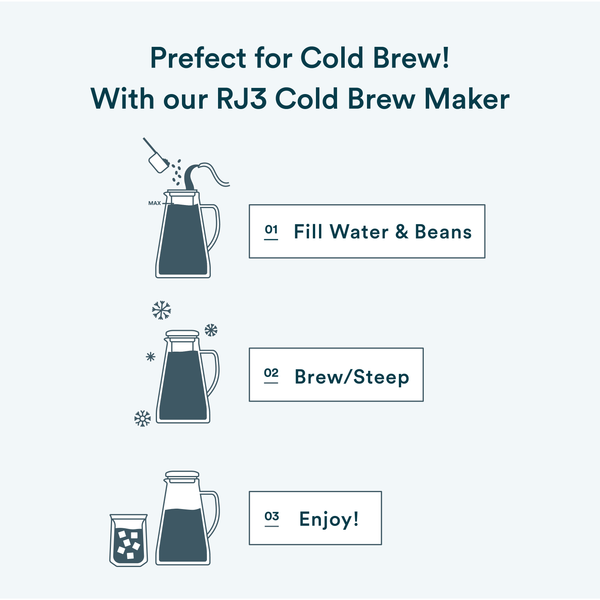 OVALWARE 08 Neptune Cold Brew Coffee Beans brewing tips