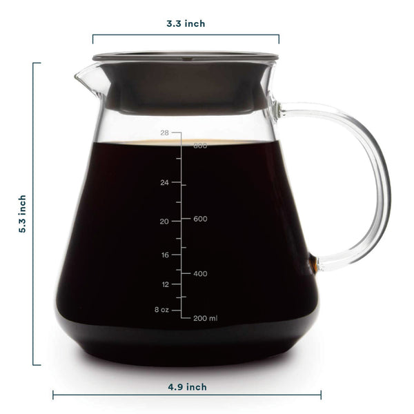 OVALWARE specialty coffee equipment range server 2.0 600ml 800ml
