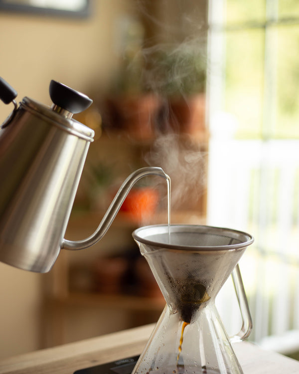 ovalware specialty coffee equipment pour over kettle and maker stainless steel filter