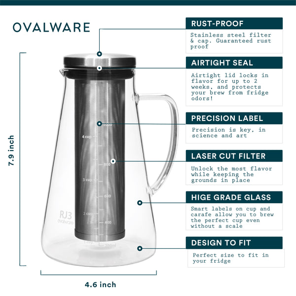 OVALWARE specialty coffee equipment cold brew maker