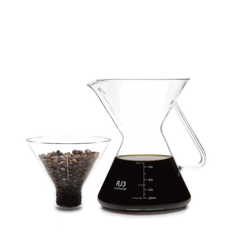 Pour Over Coffee Maker w/o Filter - Ovalware