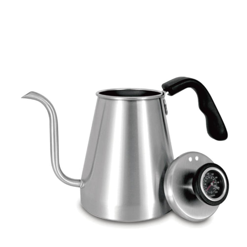 Pour Over Kettle w/ Built-in Thermometer - Ovalware