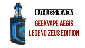 Product Review: Geekvape Aegis Legend Zeus Limited Edition