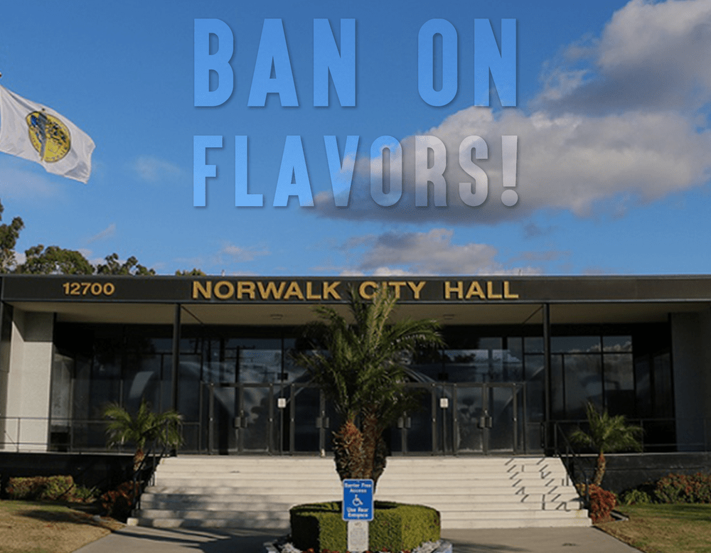 California Meeting on Upcoming Flavor Ban