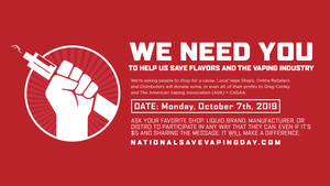 National Save Vaping Day