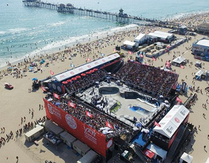 Ruthless E-Juices Visits US Open Surf Competition