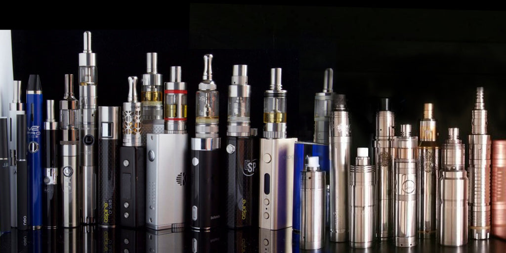 vaping and ecigarette devices