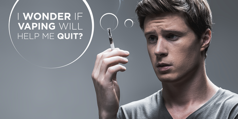Can vaping help you quit smoking?