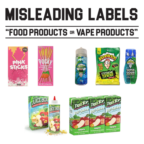 FDA Warning Issues - Misleading Labels