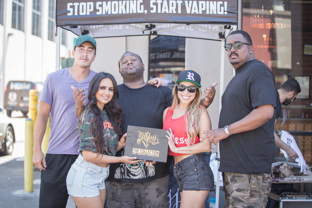 Ruthless E-Juices at Vans US Open for Surfing