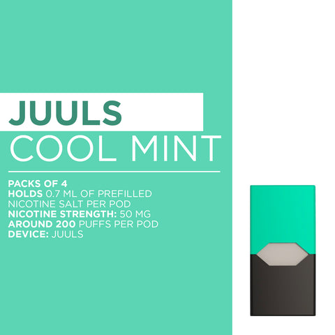 Juuls Cool Mint Nicotine Salt