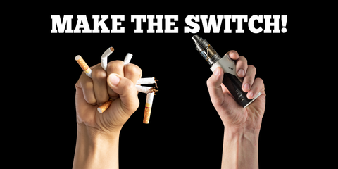 Vaping to quit smoking? | Make the Switch