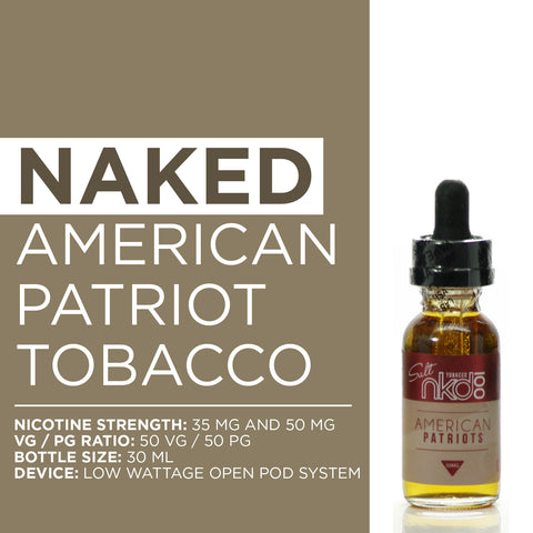 Naked American Patriot Tobacco