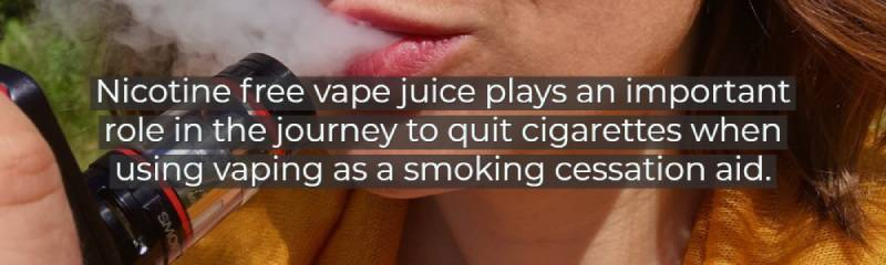 vaping as a smoking cessation aid.