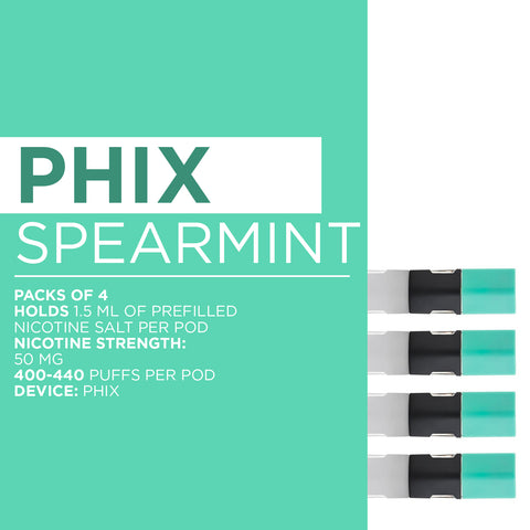 Phix Spearmint Nicotine Salt
