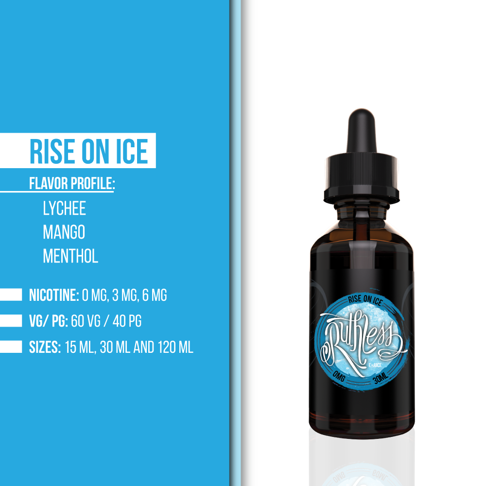Rise On Ice E-juice | Ruthless Vapor
