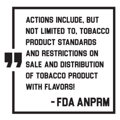 ANPRM FDA Block Quote
