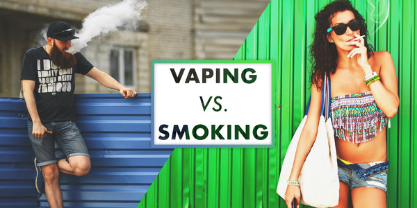 Vaping vs Smoking - Why is there is a difference in nicotine absorption?