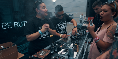 Ruthless Vapor at ECC Expo 2018