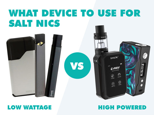 Low wattage device vs high powered device