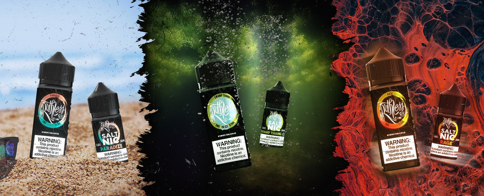 Premium E-Liquid Flavors by Ruthless Vapor E-Juice