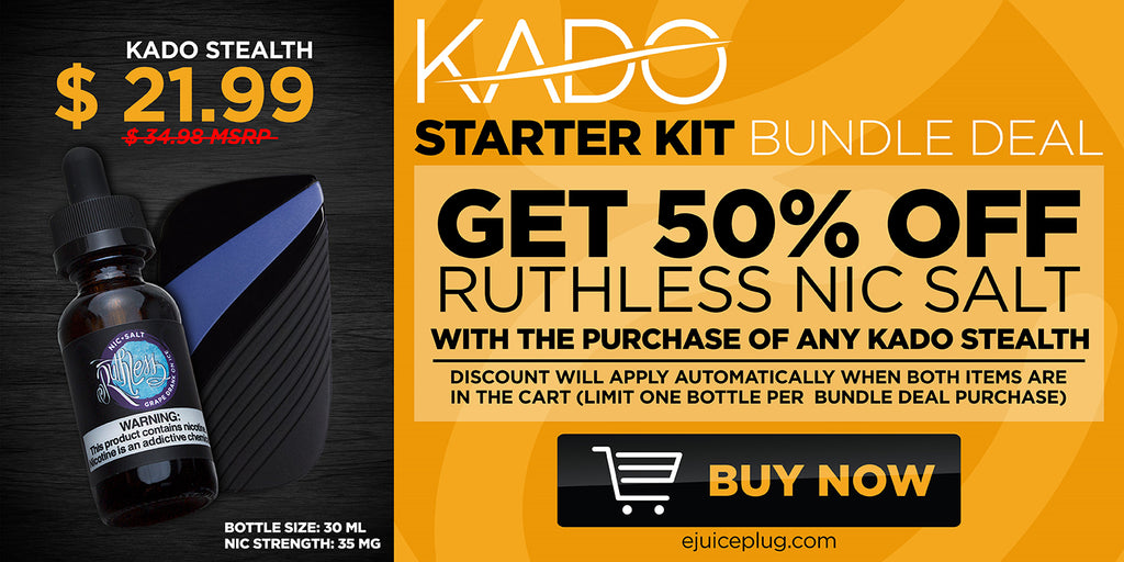 Kado Starter Kit Graphic at E-Juice Plug