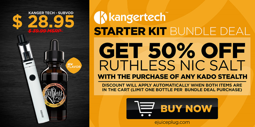 Kanger Tech Starer Kit Graphic at E-Juice Plug