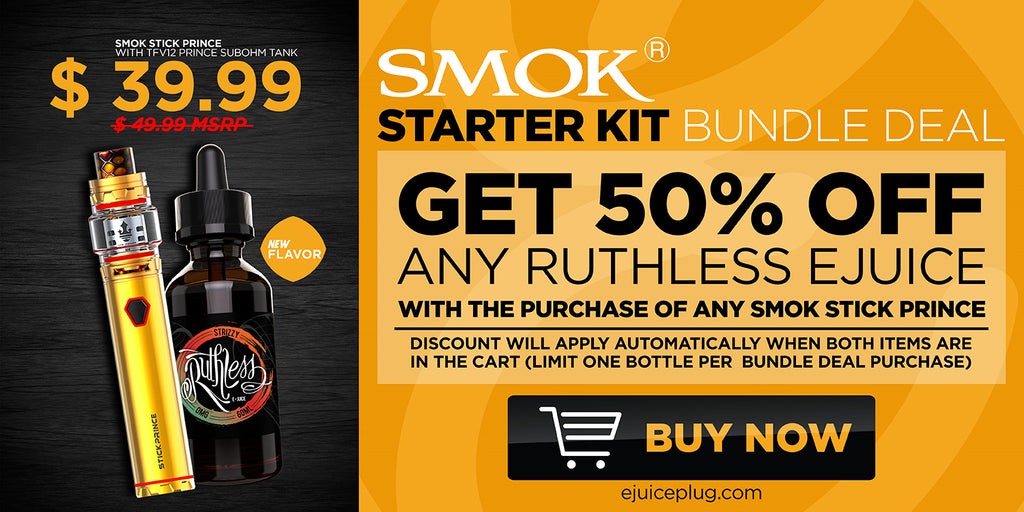 Smok Prince Starter Kit Graphic at E-Juice Plug