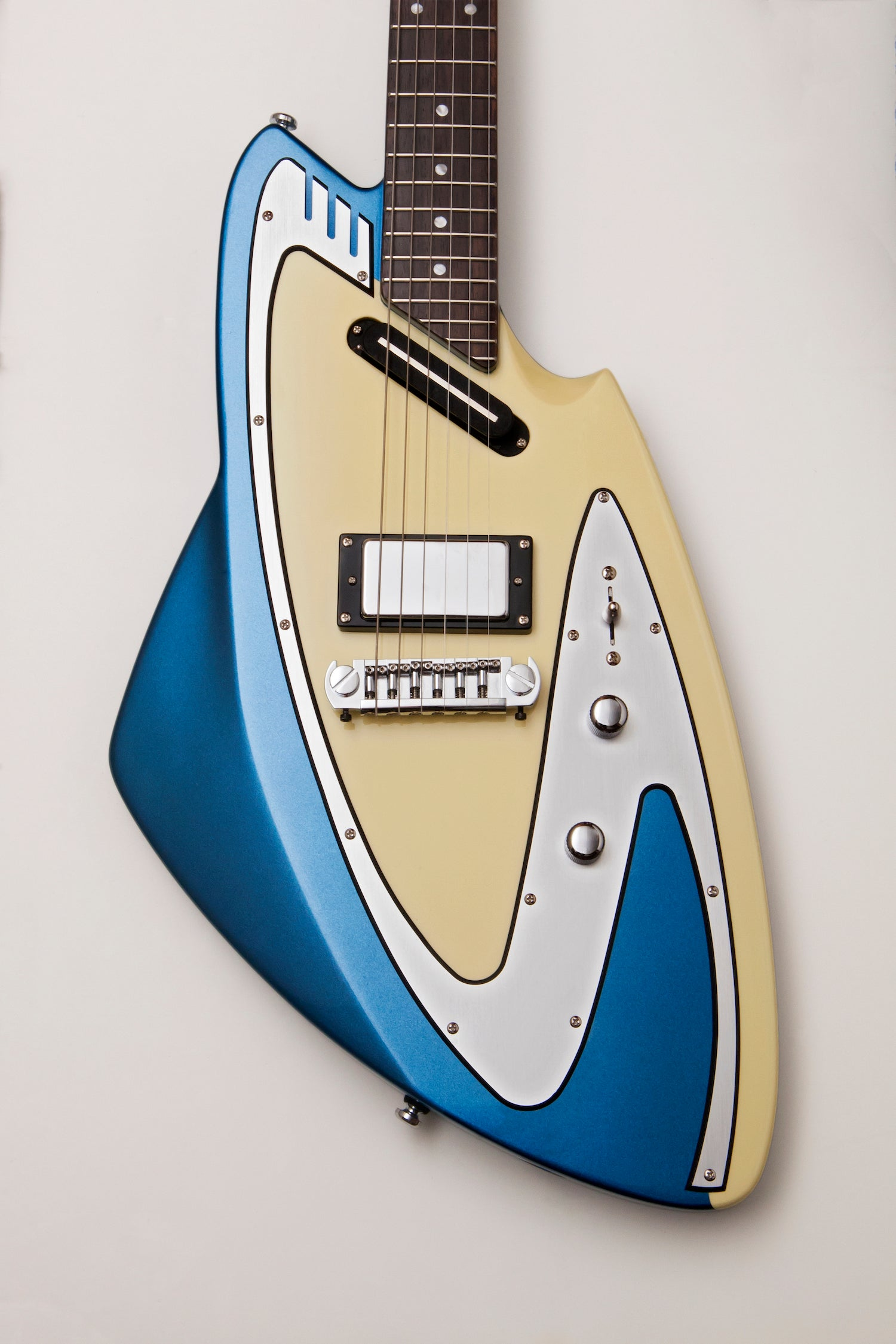 Backlund Guitars Model 100 Blue
