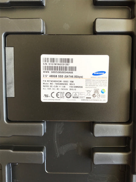 "Samsung SM843TN (MZ7WD480HCGM-00003) 480GB, 2.5"" SATA Enterprise SSD - Anand International Inc."
