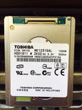 "Toshiba (MK1231GAL) 120GB, 4200RPM, 1.8"" Internal Hard Drive - Anand International Inc."