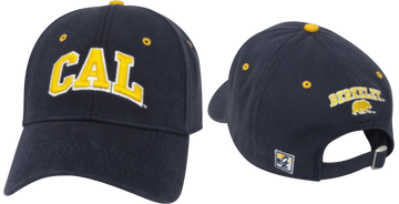 University Of California Berkeley Golden Bears CAL Block Adjustable Ball Cap- Navy