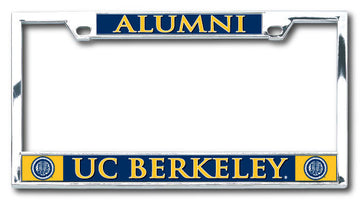 UC Berkeley Alumni Boxter Laser Dome License Plate Frame