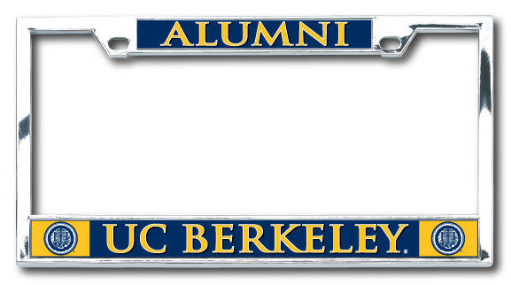 UC Berkeley Alumni Boxter Laser Dome License Plate Frame-Shop College Wear