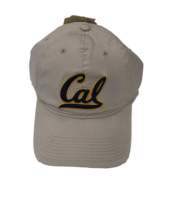 U.C. Berkeley Cal Bears Performance Dry adjustable hat - STONE